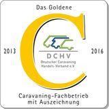 Das Goldene C 2013-2016: Caravaning-Fachbetrieb mit Auszeichnung