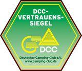 DCC-Vertrauenssiegel vom Deutschen Camping-Club e.V.